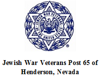 Jewish War Veterans Post 65, Henderson, NV 89014